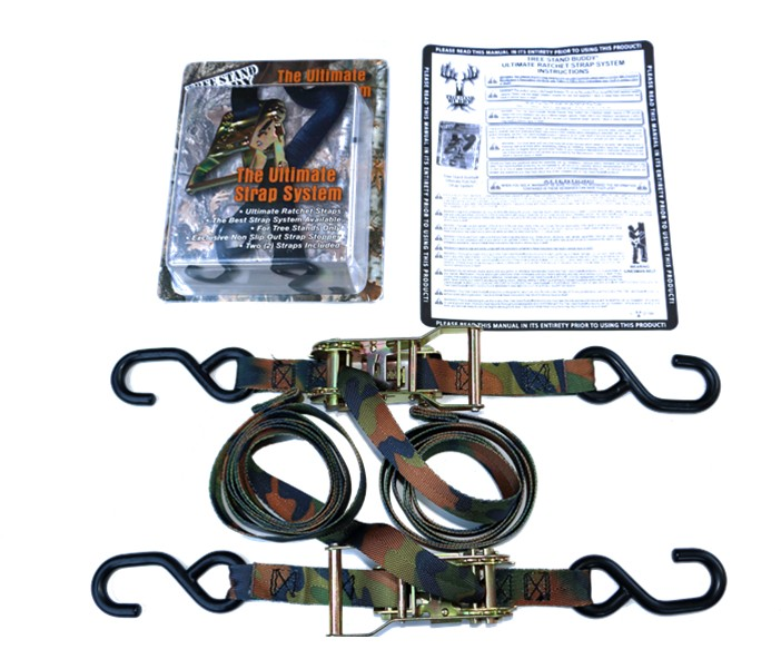 Tree Stand Buddy's Ultimate Strap System (2 Straps Included)